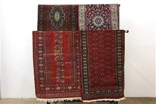 Group 4 Traditional Persian Style Wool Area Rug Runners