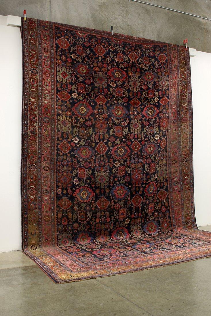 "Massive Palace Size Wool Rug Patterned Carpet 136""x231"""