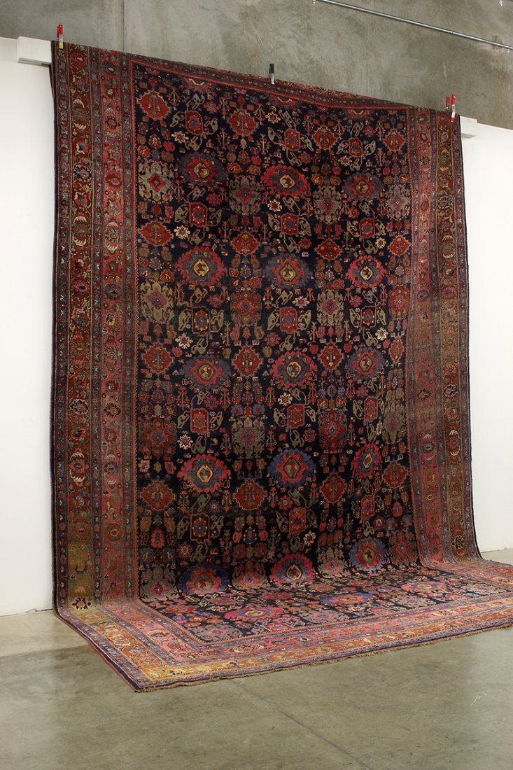 "Massive Palace Size Wool Rug Patterned Carpet 136""x231"""