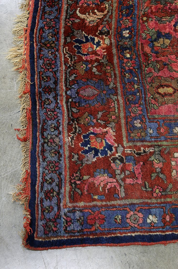 "Massive Palace Size Wool Rug Patterned Carpet 136""x231"" - 7"