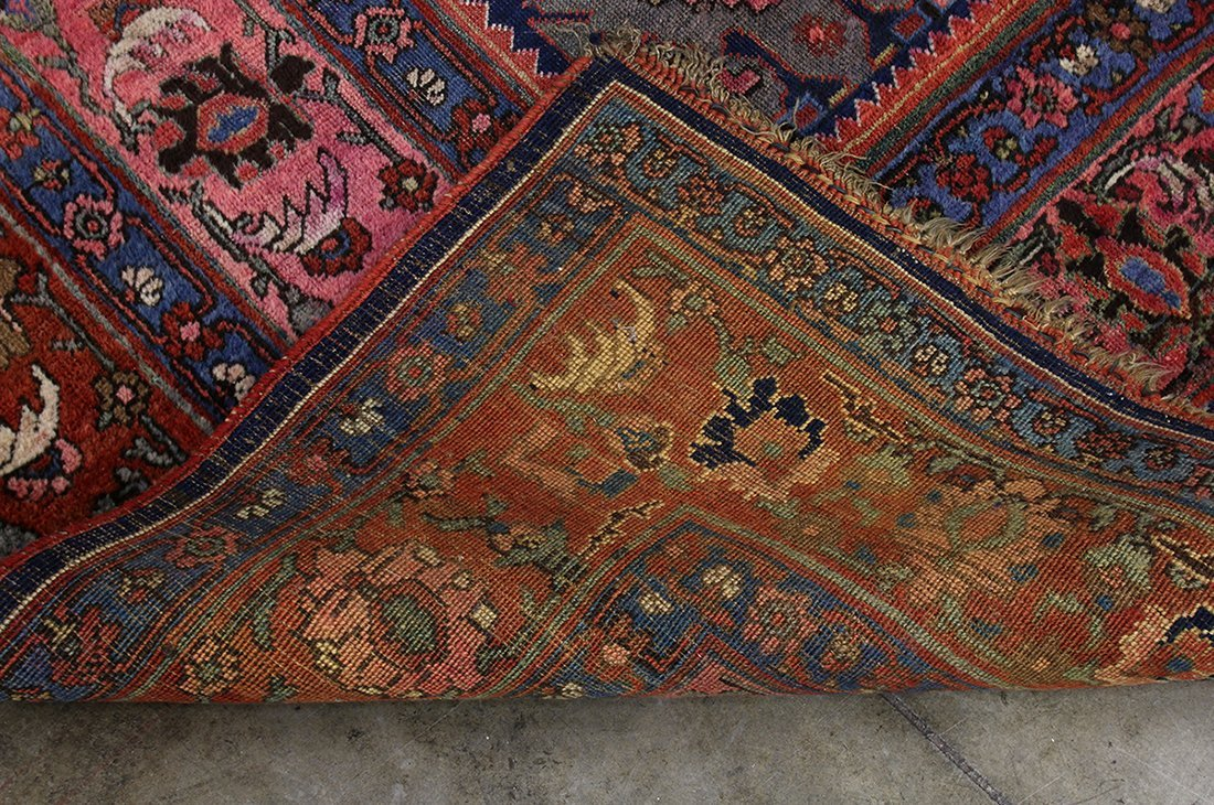 "Massive Palace Size Wool Rug Patterned Carpet 136""x231"" - 8"