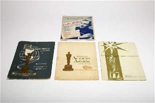 LOT 3 Oscars Program 1957 1959 1961 Carlos Molina Promo