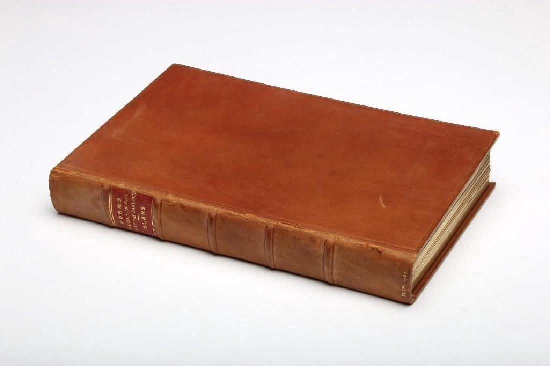 1787 Robert Burns Poems in Scottish Dialect Edinburg