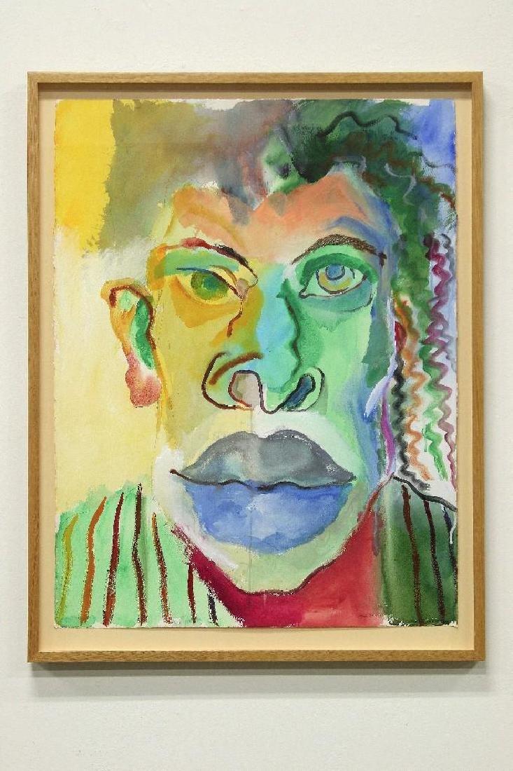 Arvie Smith Portland Artist Watercolor Portrait