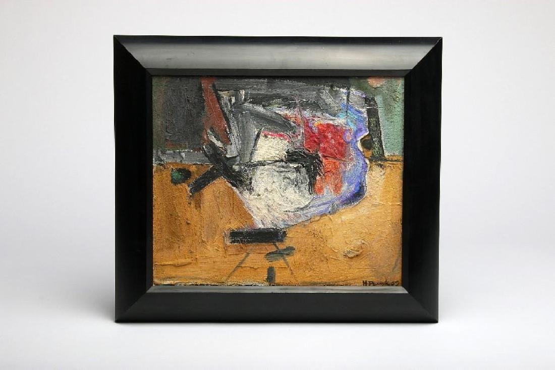 Harold Frank Mid Century Abstract Expressionist