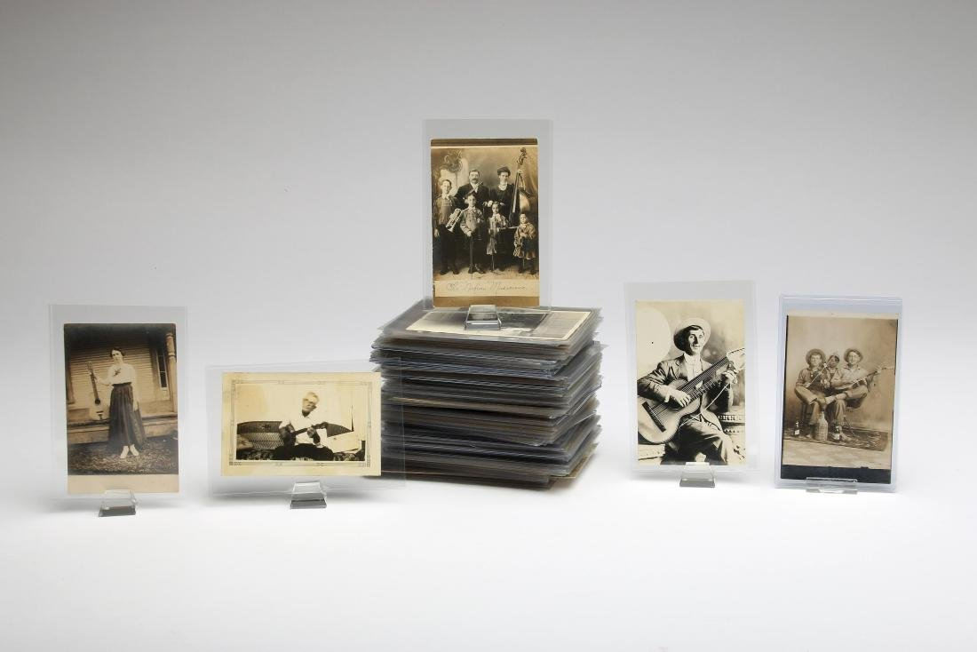 Collection Photo Postcards Musician Obsolete Musical