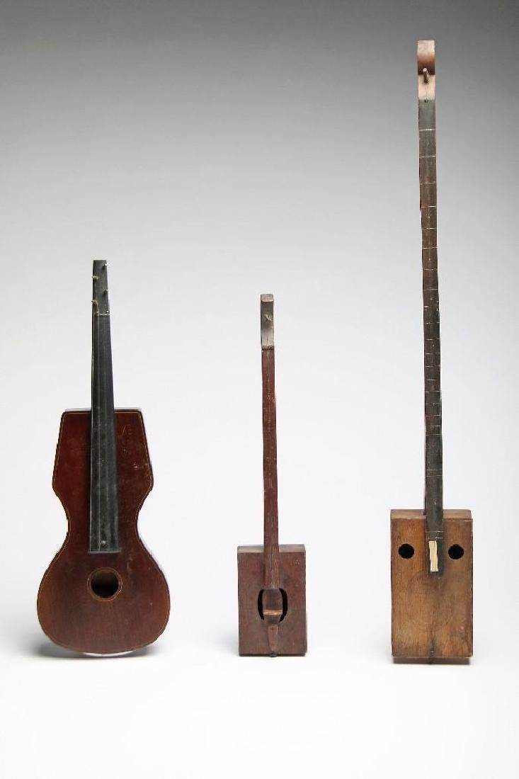 3 Vintage Musical Instrument String Oddities