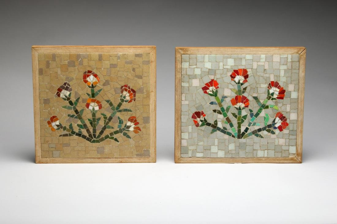 Denis O'Connor California Artist Pair Mosaic Tile Art
