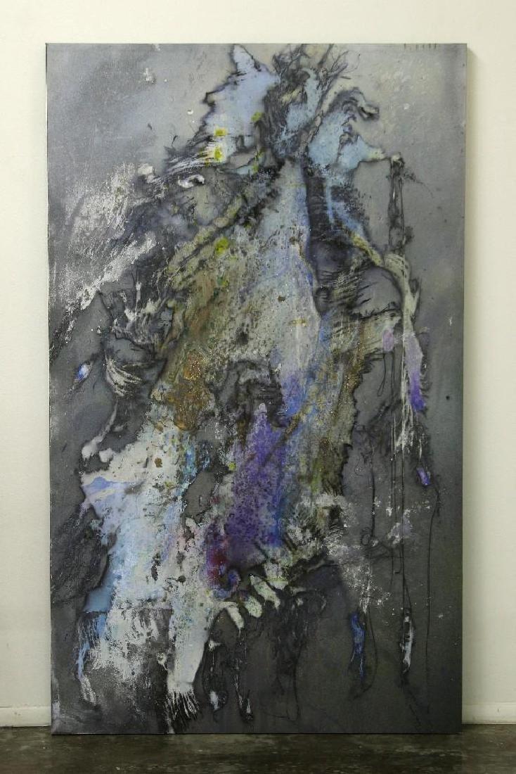 Sylvia Glass California Acrylic Canvas Large Scale