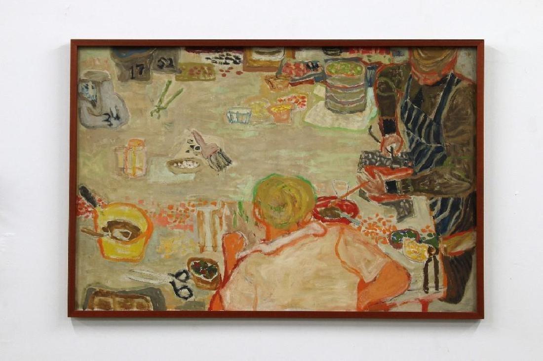 Sue Lautmann Hertel Painting Millard Sheets Mosaic