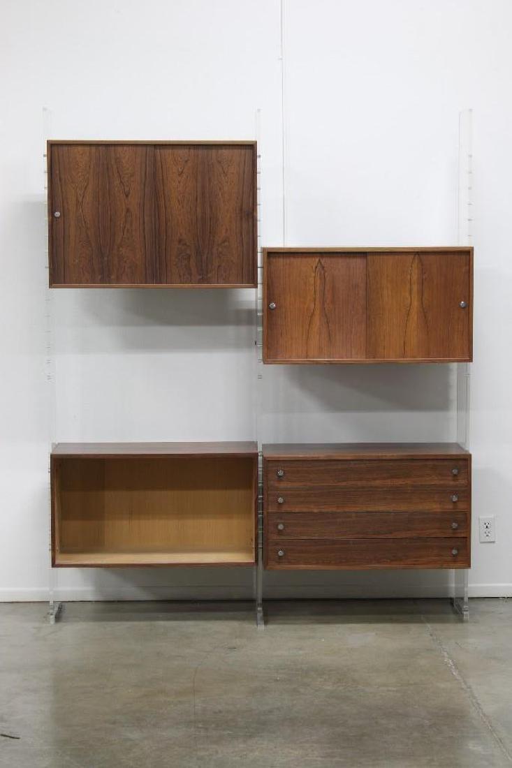 Poul Norreklit Danish Modern Selectform Rosewood Lucite