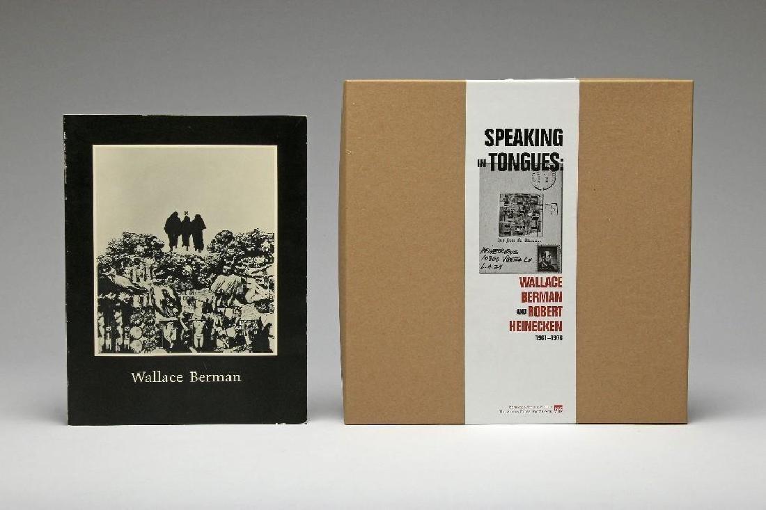 Wallace Berman Lot 2 Books California Artist Collage