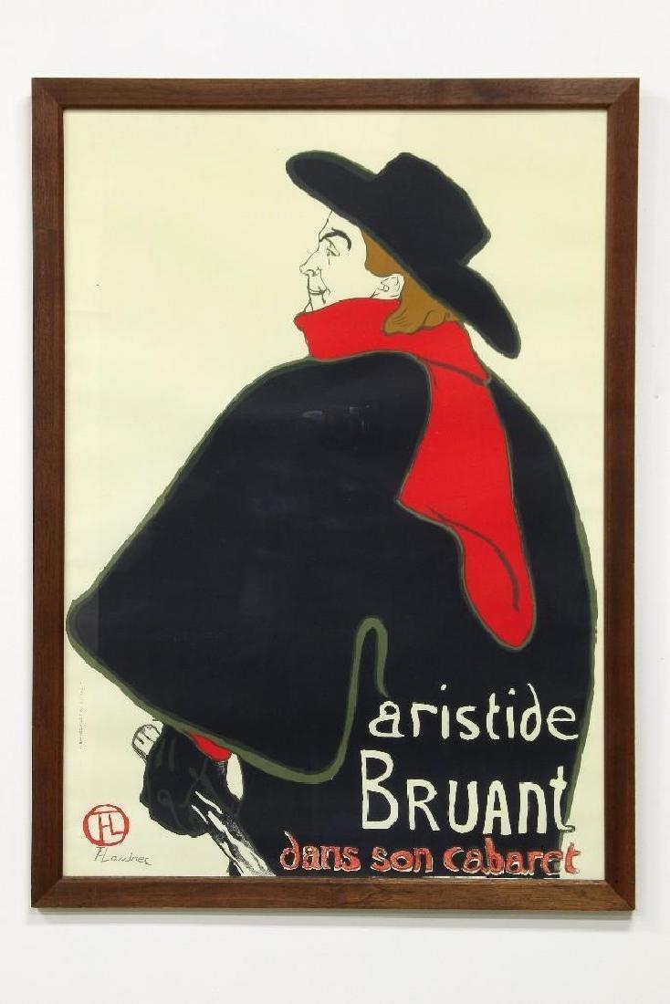 T Lautrec Aristide Bruant Dans Son Cabaret Poster