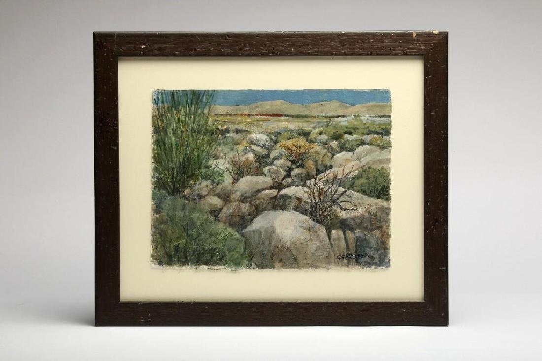 Gerald F. Brommer California Watercolor Landscape