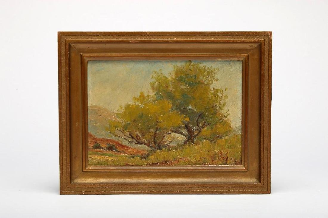 Anna Althea Hills attr. 2 California Landscape Painting - 4