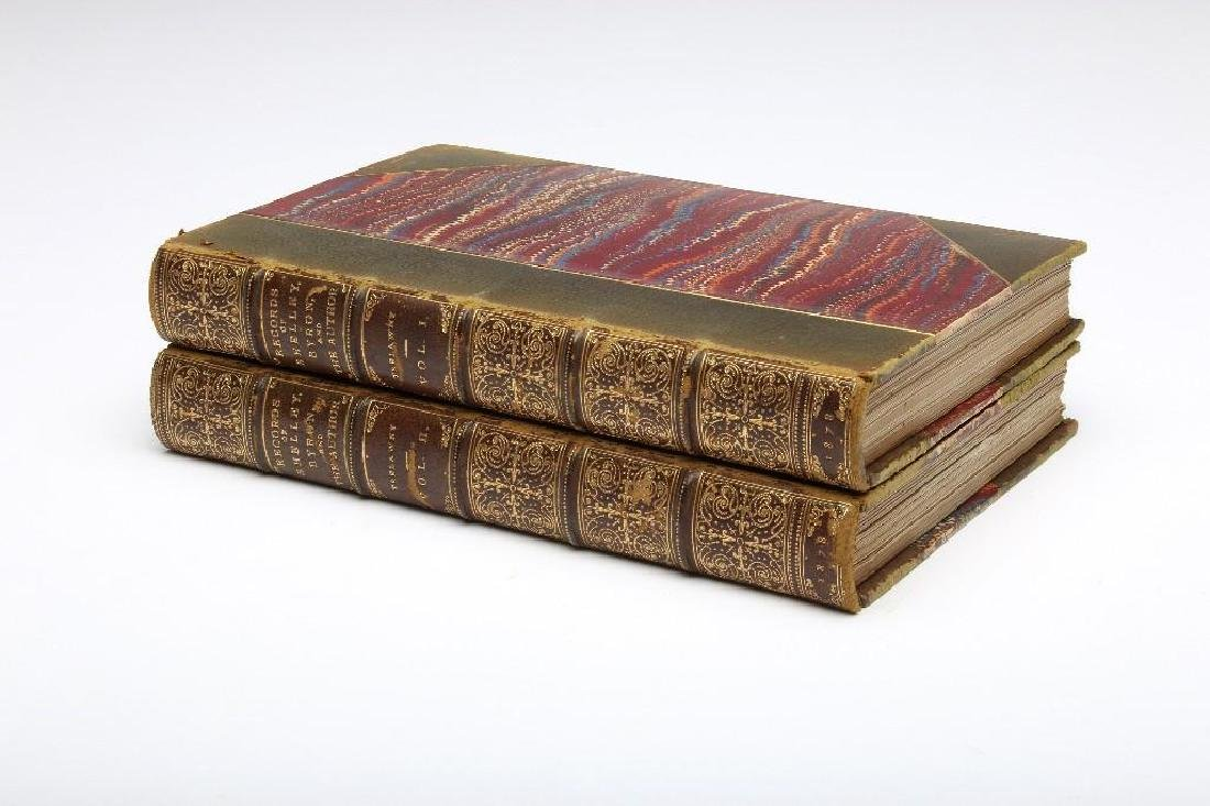 Records of Shelley Byron and the Author 2 Volumes 1878