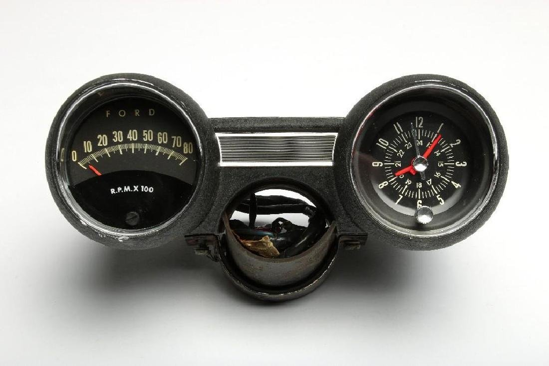 Vintage Rally Pac Kit Double 8000 RPM Tachometer Clock