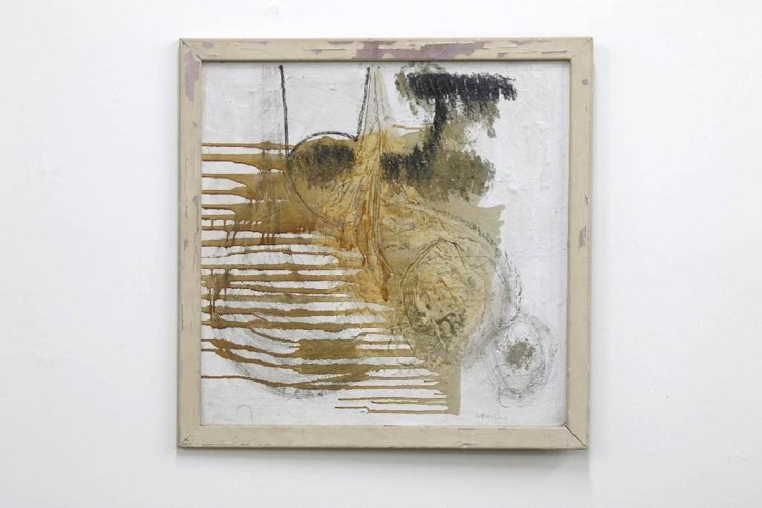 Edward Kienholz Mixed Media Abstract Painting