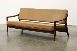 Arne Wahl Iversen MCM Danish Modern Teak Sofa Daybed