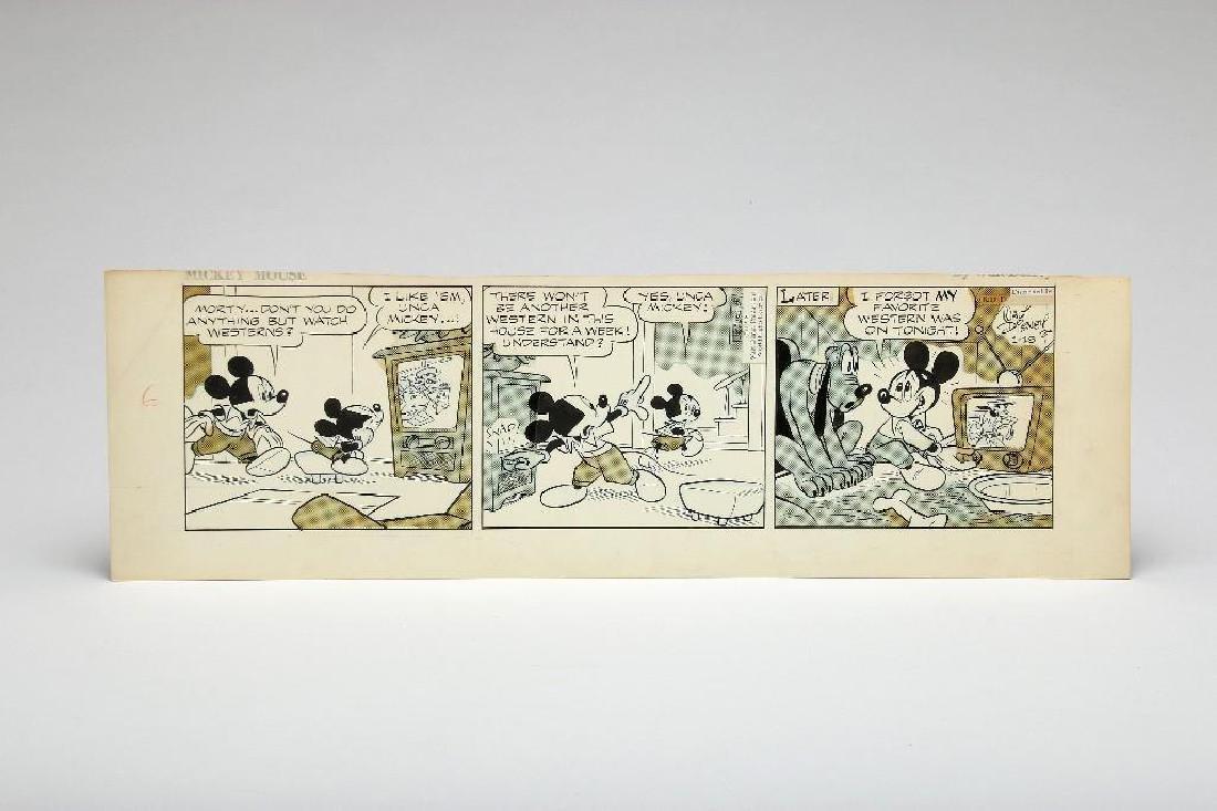 1958 Mickey Mouse Disney Original Art Floyd Gottfredson
