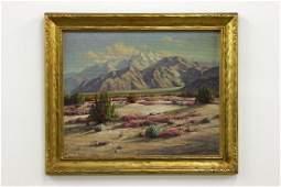 Paul Grimm Mountain Landscape Painting Seasons Contrast