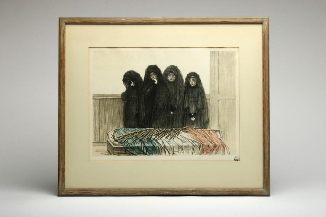 Theophile-Alexandre Steinlen La Gloire Lithograph