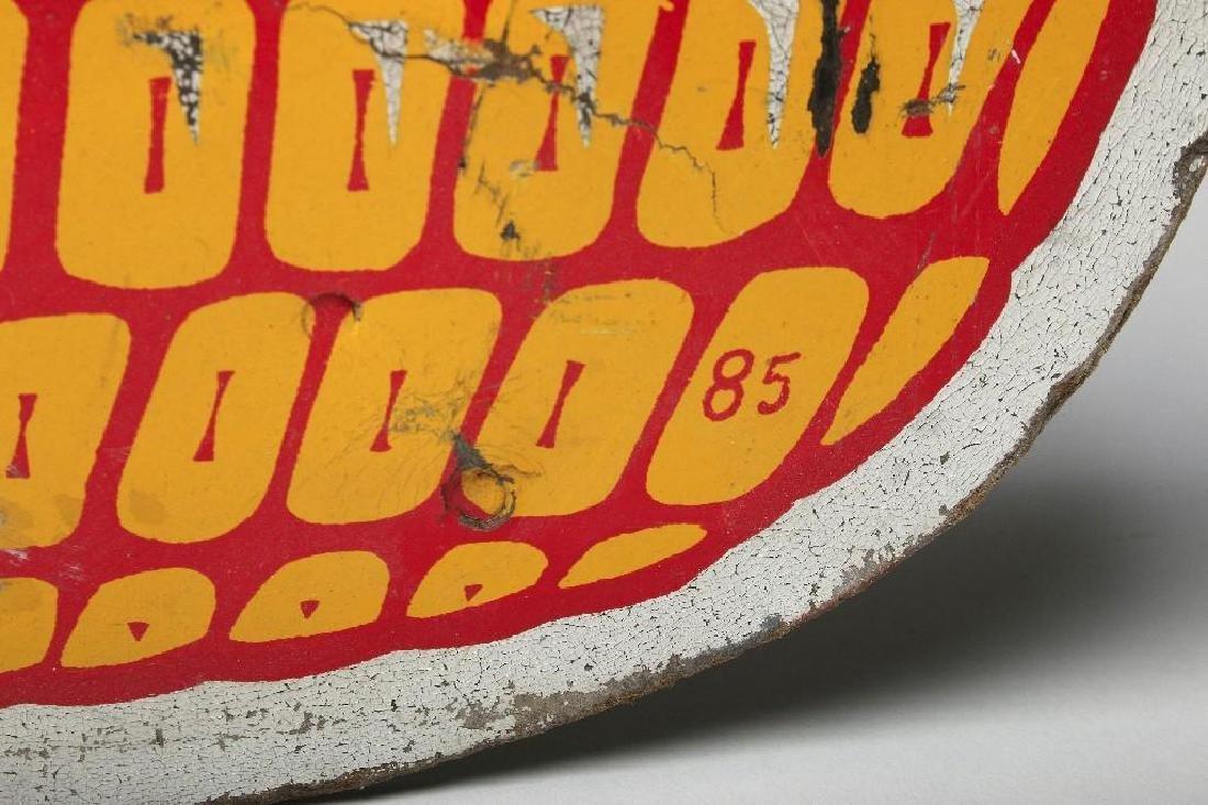 Dekalb Flying Corn Ear Masonite Advertising Sign - 3