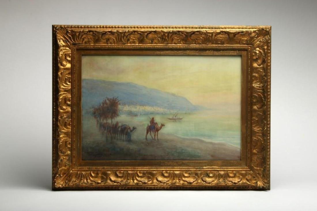 Frederick Carl Smith Landscape Syria Watercolor