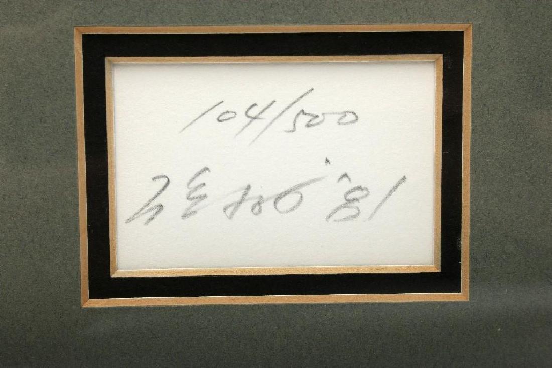 Arata Isozaki MOCA Contemporary Japanese Signed Print - 2