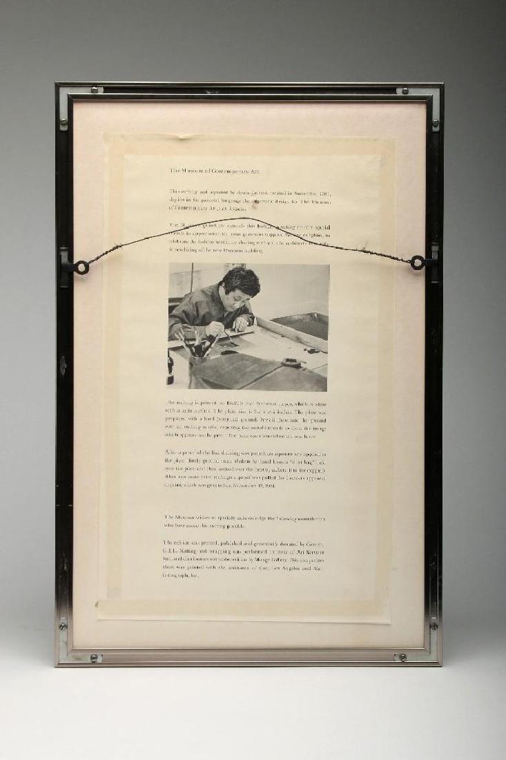 Arata Isozaki MOCA Contemporary Japanese Signed Print - 4