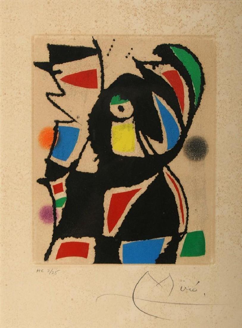 Joan Miro le Marteau Sans Maitre XV
