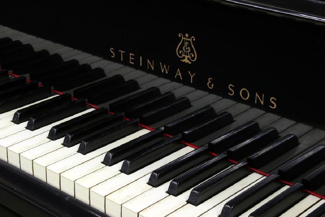 """1923 Steinway Model M 5' 7"""" Studio Grand Piano - 2"""