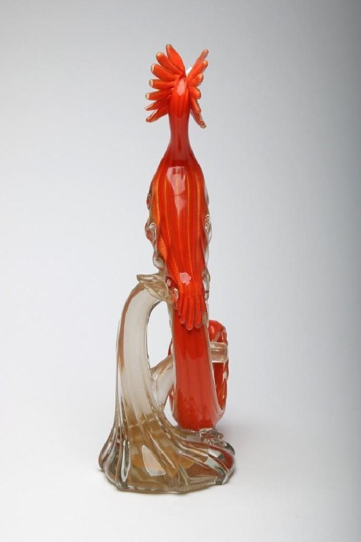 Murano Glass Bird Sculpture - 2