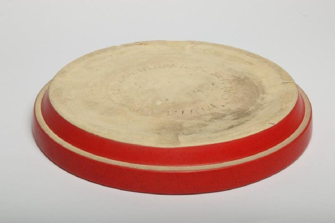 Gainey Red Planter and Dish - 4