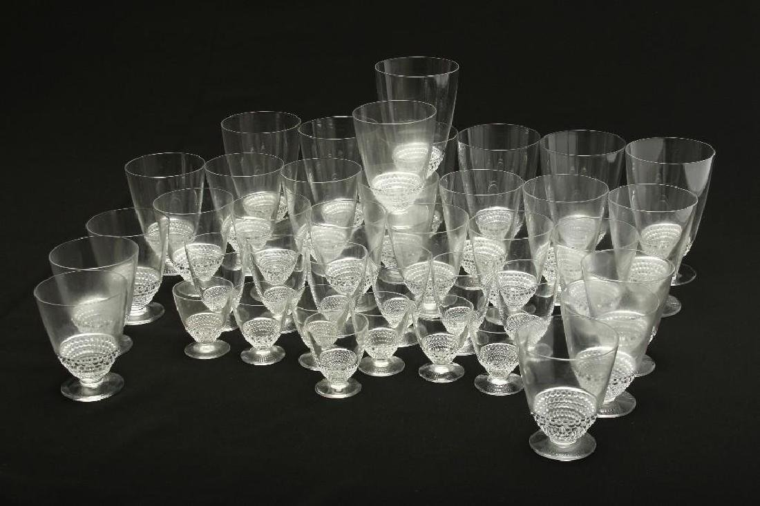 Group of 39 Lalique Nippon Glassware