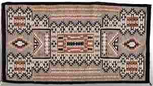 Vintage Navajo Rug Storm Pattern