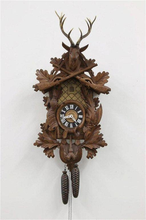 German Black Forest Cuckoo Clock