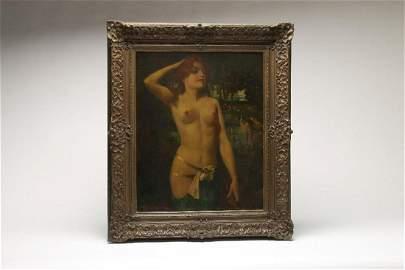Eugene Ansen-Hofman (1862-1955) Oil on Canvas