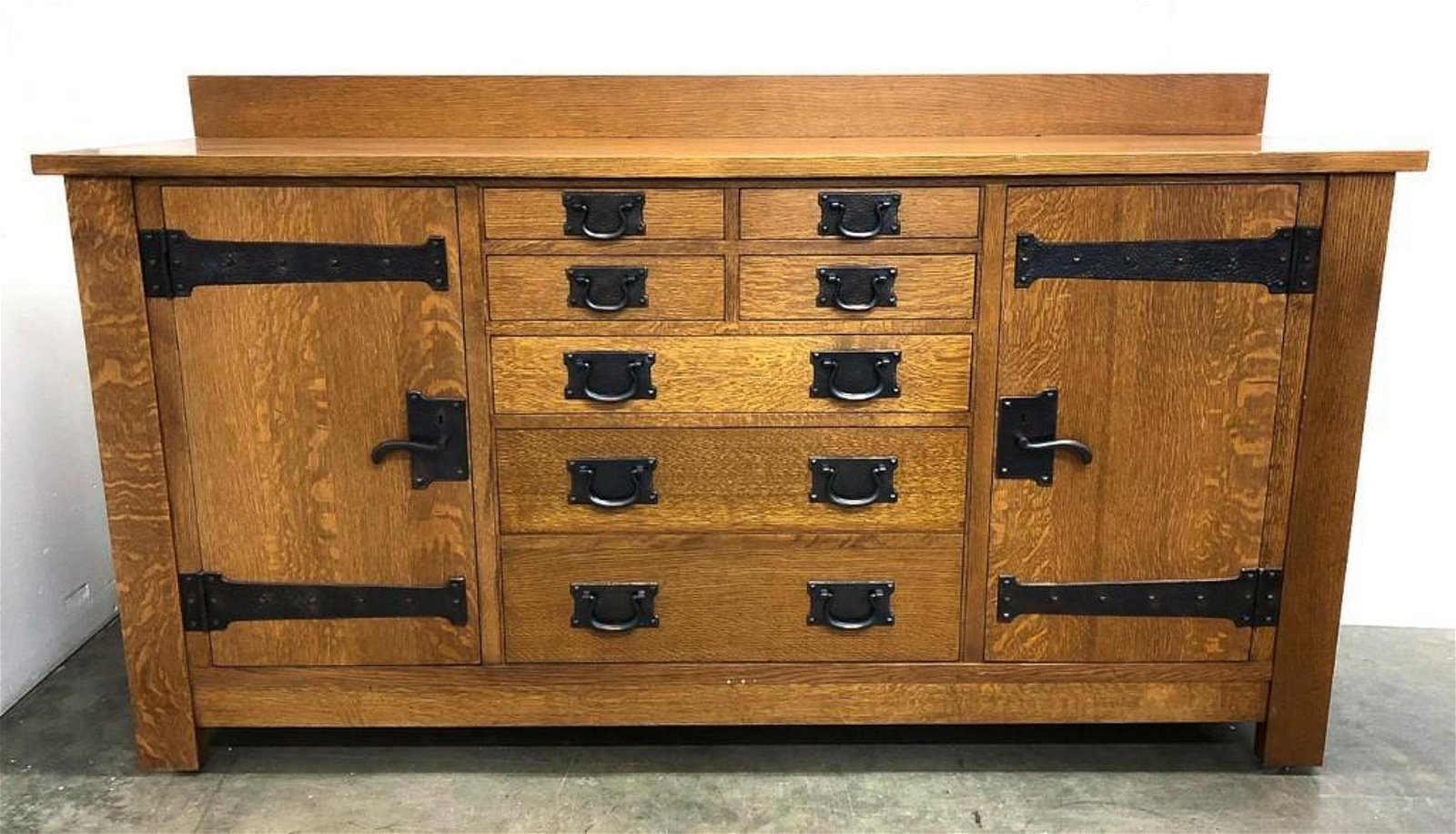 Newer Stickley Reproduction Arts & Crafts Credenza