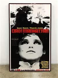 Ciao! Manhattan (1972) Original Movie Poster PREMIERE