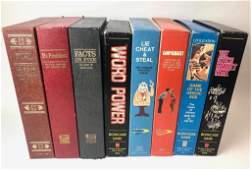 Lot of 8 Vintage Bookshelf Board Games