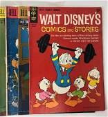 Lot of 25 Comic Books Walt Disney Donald Duck 10 Cent