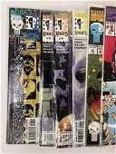 Lot of 13 Vintage Comic Books Marvel The Punisher