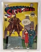 DC Comic Book Superman No 16 10 Cents
