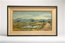 Ben Abril 19231995 Oil on Canvas California