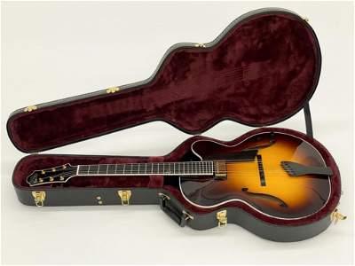 "Signed Robert Benedetto Jazz Guitar ""Bravo"" No. S2436"