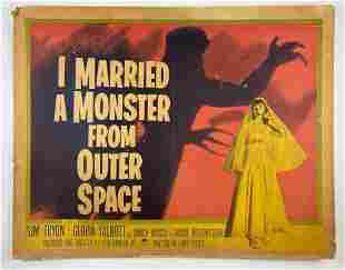 Original 1958 I Married a Monster From Outer Space