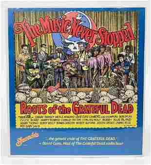 Robert Crumb Roots of the Grateful Dead Poster 1995