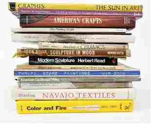Group of (15) Art Books Ceramics Southwestern Modern