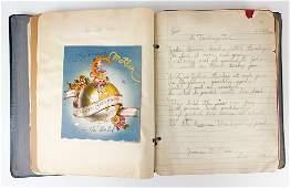 Vintage Scrapbook Album Children's Greeting Cards